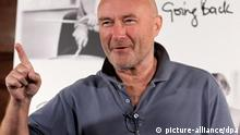British singer-songwriter Phil Collins attebnds the press conference to present his lates album Going back, in Madrid, center Spain, 22 September 2010. Phil Collins a drummer and vocalist for English rock group Genesis and as a solo artist. Photo: EPA/ANGEL DIAZ