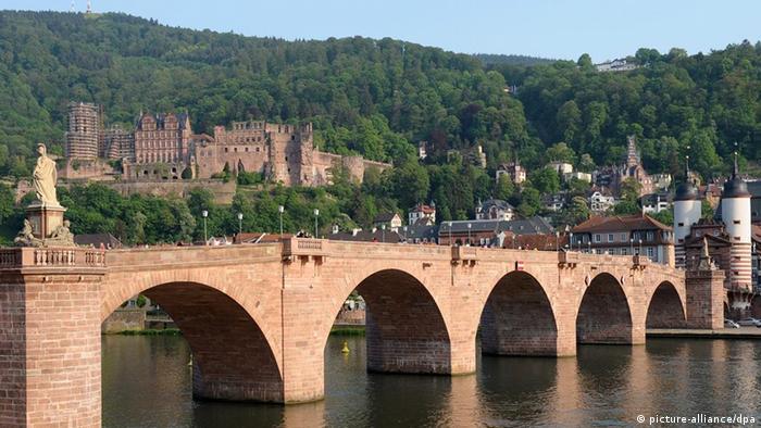 Stadt Heidelberg Schloss beliebteste Sehenswürdigkeiten Deutschland