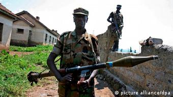 Fighters in the Democratic Republic of Congo