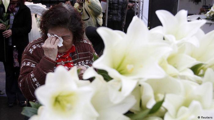 Taiwan 65. Jahrestag 228 Massaker Aufstand Gedenken Trauer (Reuters)