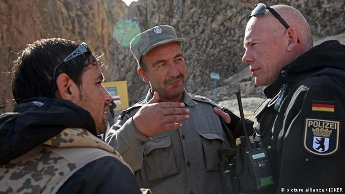 Afghanistan Polizei