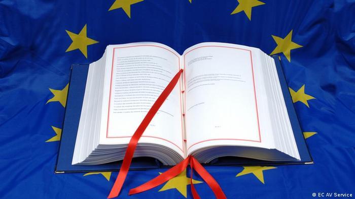 Symbolbild Lissabon-Vertrag