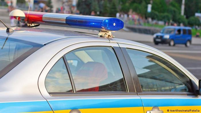 Fotolia Polizeiauto Ukraine