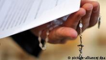 Symbolbild Kindesmissbrauch in der Kirche
