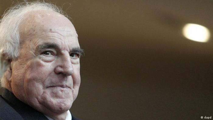 Portrait Alt-Bundeskanzler Helmut Kohl