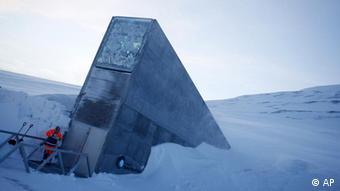 Weltweiter Saatgut-Tresor auf Spitzbergen