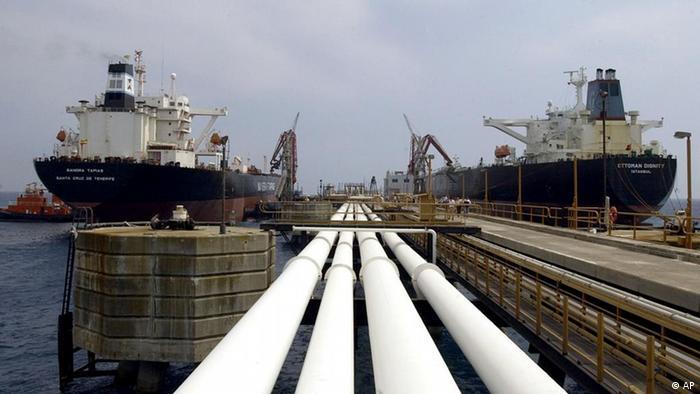 ترمینال نفتی جیهان در ساحل مدیترانه