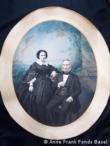 Elkan Juda Cahn und seine Frau Betty Ur-Ur-Ur-Großeltern von Anne Frank