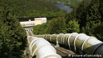 Одна из немецких ГАЭС в горах Гарц