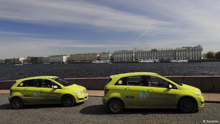 Концепт-кары Mercedes-Benz Concept Car F700 в Санкт-Петербурге