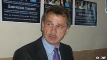Anatoly Lebedko Leiter der Partei OGP Vereinte Bürgerpartei