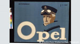 Реклама автоконцерну Opel з колекції Закса