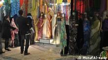 Phototitl\A growing demand to buy Kurdish Women's dress before Eid Newroz ,Sulaymaniyah, Iraq. Placeand,Date: Kirkuk, iraq, Feb, 29, 2012. CopyRight/Photographer:Munaf Al-saidy
