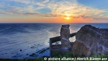 Sandstone formation Heligoland (photo: picture alliance)