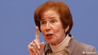A caçadora de nazistas Beate Klarsfeld