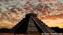 Symbolbild zum Ende des Maya-Kalenders am 21. Dez. 2012