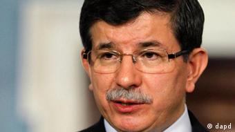 احمد داوداغلو، وزیر خارجه ترکیه