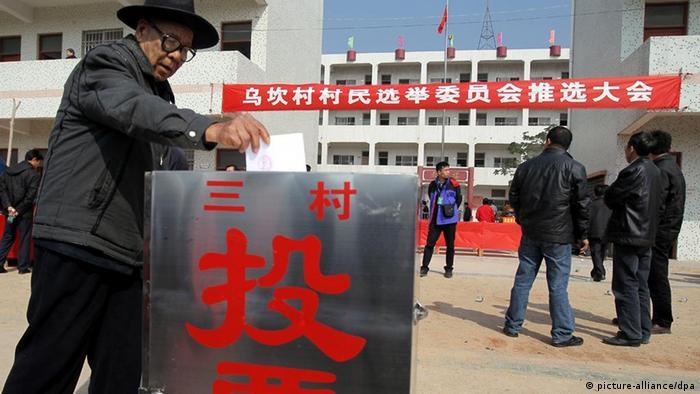 村民在2月29日进行模拟投票