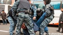 Затримання демонстрантів нерідко супроводжується порушеннями