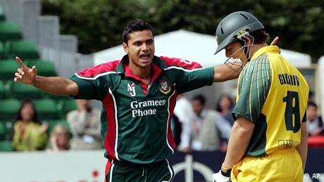 Mashrafee Bin Mortaza Bangladesch cricket-spieler (AP)