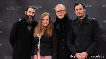 Wir sind Helden at a film premiere in 2010