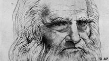 Italien Kunst Renaissance Leonardo da Vinci Selbstportrait