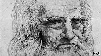 Леонардо да Винчи, автопортрет
