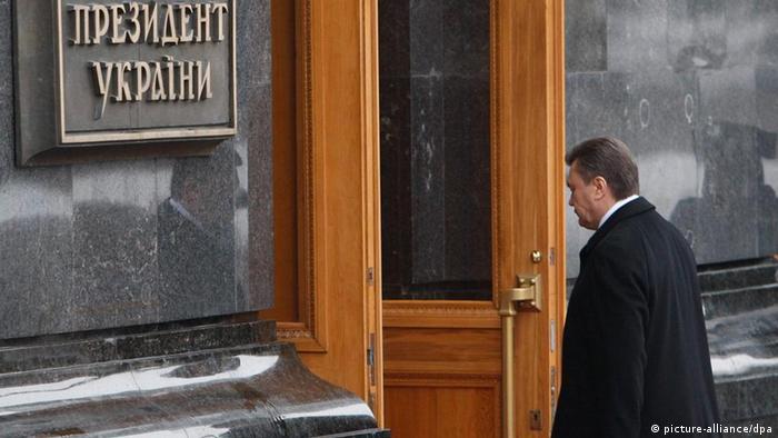 Ukraine Politik Janukowitsch