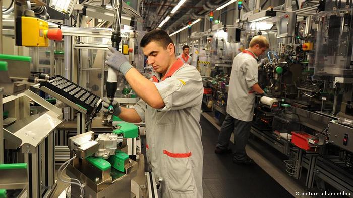 Deutschland Fachkräfte Fachkräftemangel Industrie beim Bosch