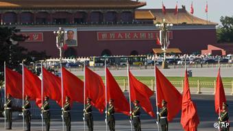 China Peking Platz des himmlischen Friedens (AP)