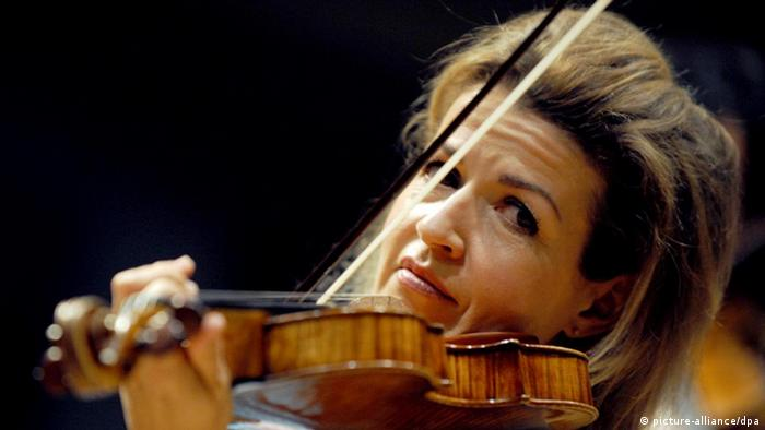 Geigerin Anne-Sophie Mutter (picture-alliance/dpa)