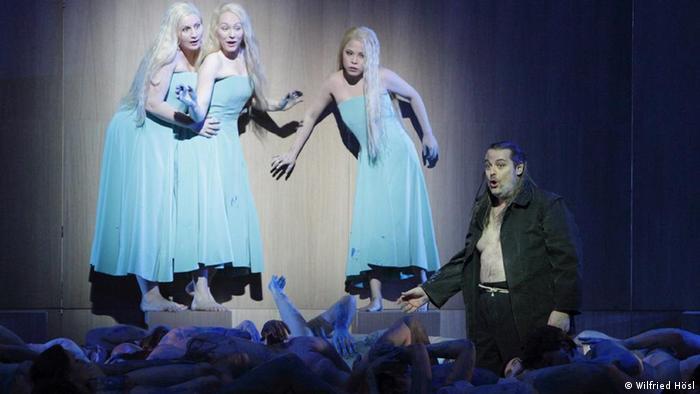 Eine Szene aus Rheingold an der Bayerischen Staatsoper (Foto: Wilfried Hösl)