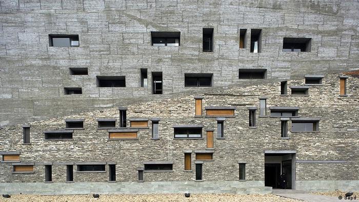 Historisches Museum von Ningbo von Wang Shu (Foto: dapd)