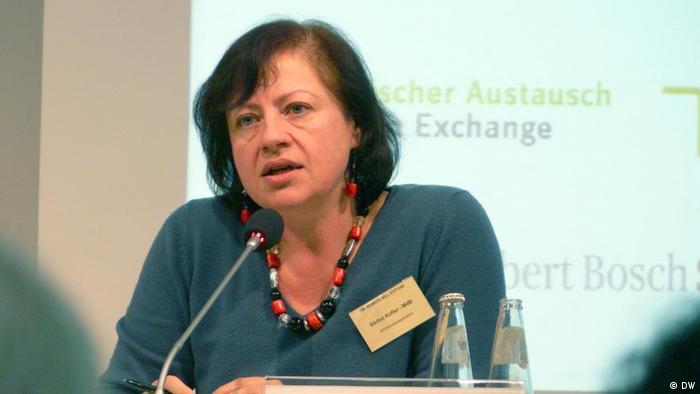 La Delegada Federal para los Derechos Humanos y Ayuda Humanitaria, Bärbel Kofler