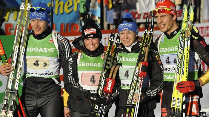 The German relay team