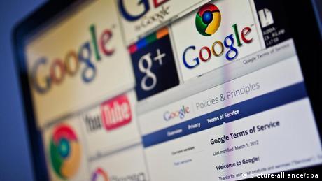 Symbolbild Internet Privatsphäre Google (picture-alliance/dpa)