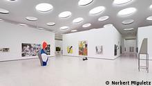 Die neue Ausstellungsräume des Städel Museums in Frankfurt. Copyright: Norbert Miguletz Februar, 2012 ***Verwendung nur in Zusammenhang mit einer Berichterstattung zum Städel Museum, Frankfurt***