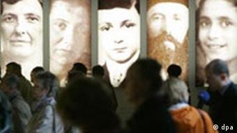 Holocaust-Mahnmal vor Eröffnung