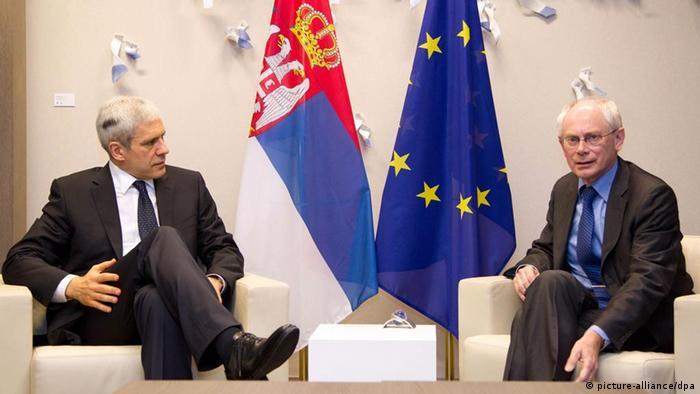 Van Rompuy trifft Tadic