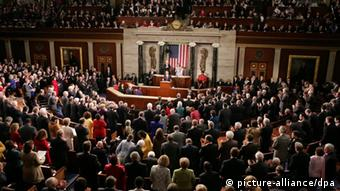 Congress during the state of the union