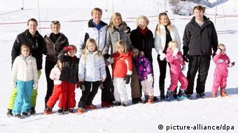 Niederländische Könisfamilie Prinz Johan Friso