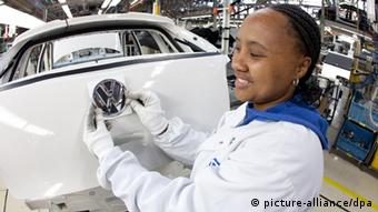 Volkswagen in Südafrika (picture-alliance/dpa)