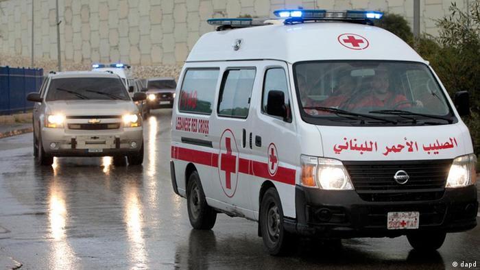 ماشین صلیب سرخ در سوریه