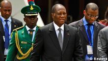 Ecowas Treffen in Abuja Ouattara