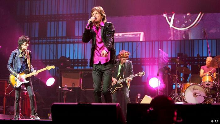 Rolling Stones concert in Saitama (AP)