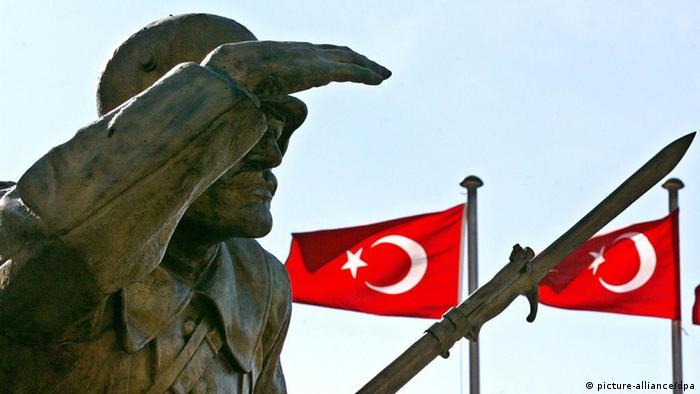 Statue of unknown soldier in Ankara