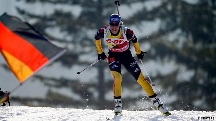 Weltmeisterschaft Biathlon in Ruhpolding Sprint Damen