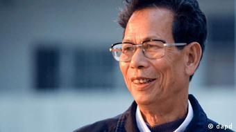 China Wukan Kommunalwahl Lin Zuluan
