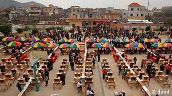 China Wukan Kommunalwahl