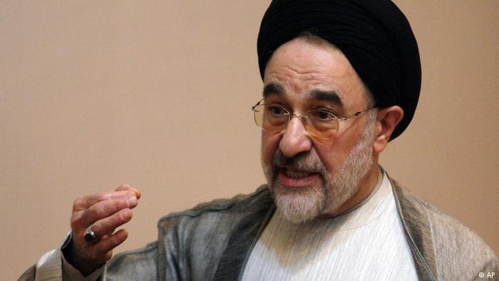 Mohammad Khatami Iran Ehemaliger Präsident Teheran